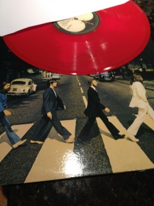 Abbey Road on red vinyl