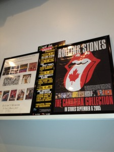 Stones lithographs