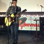 Aaron Deming played live at The Vault.