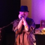 Bob Beach rocks out on the harmonica in The Vault.
