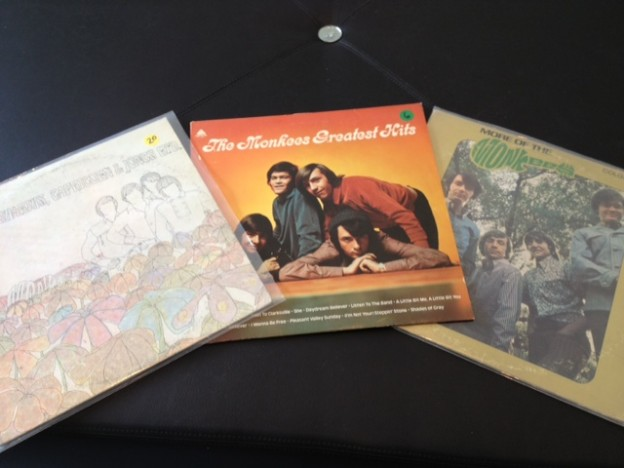 Monkees' albums are available at Vinyl Revival.