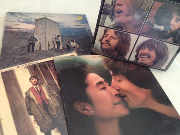 The Who and Lennon are available on vinyl.