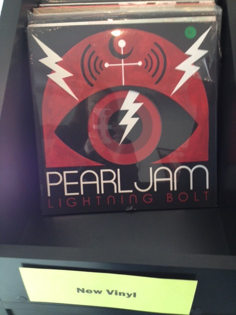Pearl Jam Lightning Bolt Vinyl Lightning Bolt by Peal Jam is