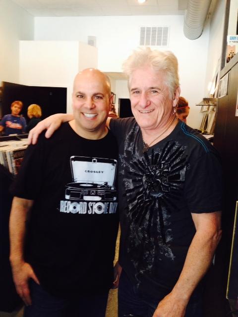 Gregg and DJ Steve Kurtz